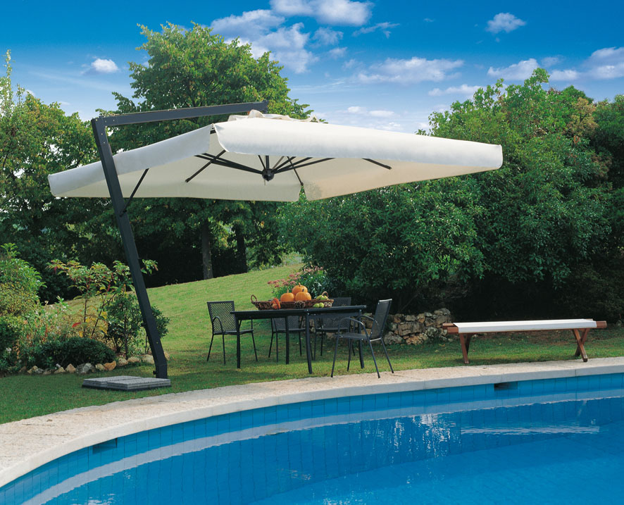 Parasol ogrodowy leonardo 400 parasole ogrodowe nortpol meble ogrodowe drewniane i - Ombrelloni giardino ikea ...