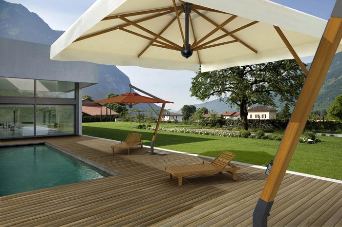 parasol ogrodowy paladio 400 parasole ogrodowe. Black Bedroom Furniture Sets. Home Design Ideas