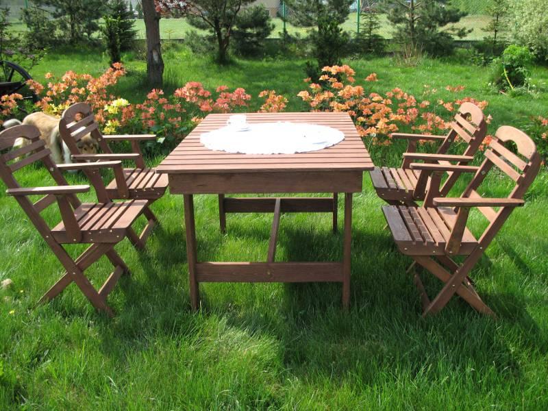 Meble Ogrodowe Drewniane Niepołomice :  ogrodowe  Nortpol  Meble ogrodowe drewniane i metalowe  zestawy